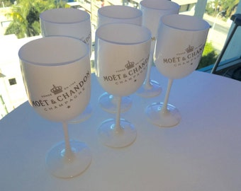 Moet &  Chandon ice imperial glasses