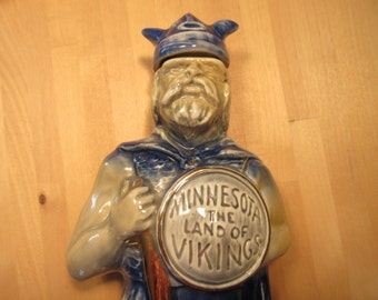 Minnesota Vikings 1973 Jim Beam decanter