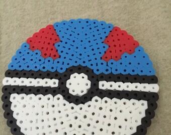 Pokemon pokeball, great ball