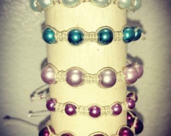 Handmade Beaded Hemp Bracelets