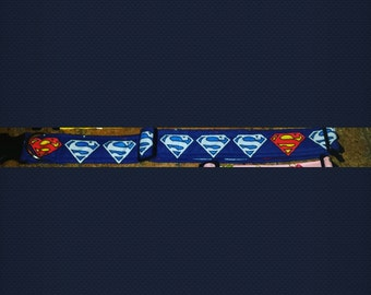 "Super dog 2"" dog collar"