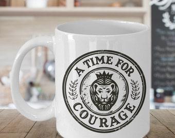 Woz - A Time For Courage - 15 oz. Mug - Wizard of Oz Gift
