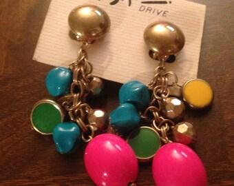 Vintage 80's Dangle Earrings