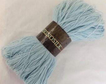 Grignasco Merinosilk Dusky Blue Yarn