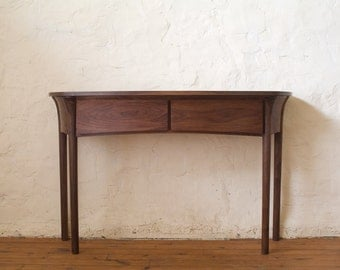Console Hall Table in Walnut