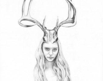 Goddess I (Deer Girl)