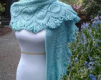 Cashmere Knit Shawl