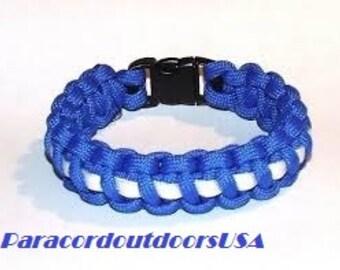 Thin White Line EMS paracord bracelet.