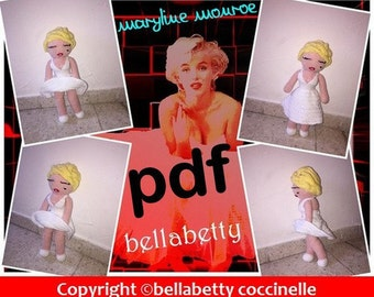 Pattern, pattern, maryline monroe doll tutorial