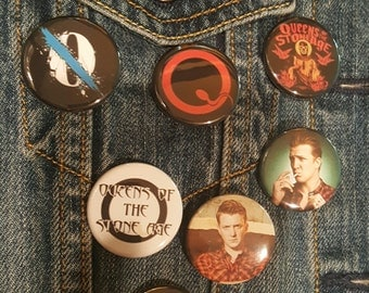 Queens of the Stone Age, QOTSA, Josh Homme, PIns, Buttons, Magnets, 1.25 inch