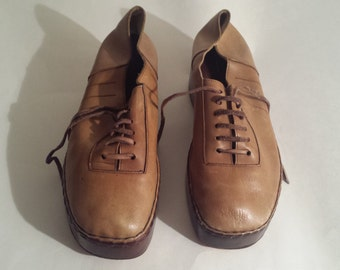 1970's Men's Platform Shoes - Size 9