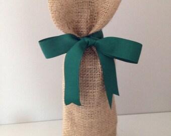 Hessian Wine Bag, Burlap Wine Bag, Gift Bag, Bottle Bag
