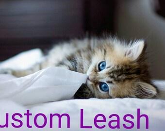 Custom 3 ft. Leash