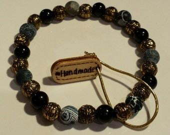 Men's Luxury Beaded Bracelet