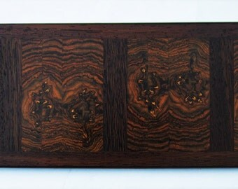 Bocote and Wenge End Grain Cutting Board