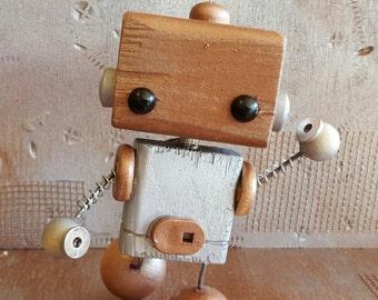 E.M.M.A. Wooden Robot