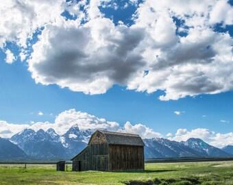 Grand Teton Mormon Row Barn