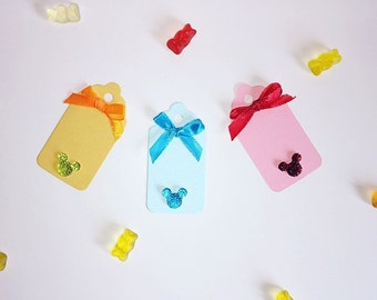 Disney inspired gift tags. 9 colours to chose from!