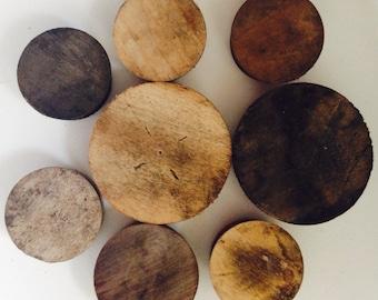 Oak Whisky Barrel Plugs