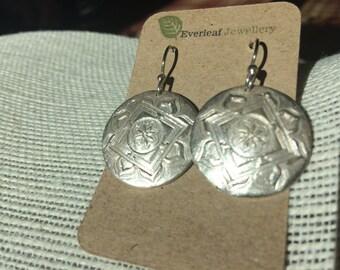 Mandala earrings 2