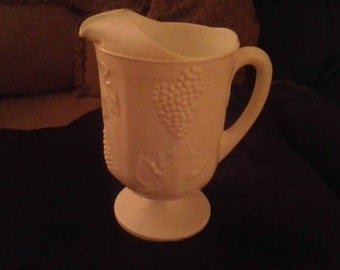 Indiana milk glass picture .