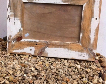 Reclaimed wooden picture frame