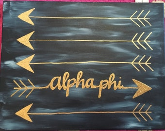 Custom canvas-alpha phi