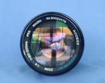 Access Precision MC 80-200mm f4 Macro zoom lens for Minolta