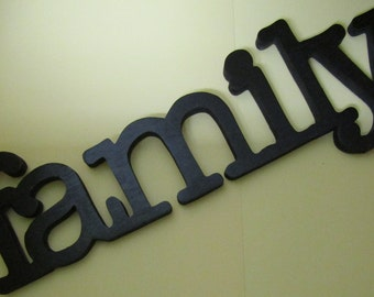 Family Wooden Hand-crafted Sign
