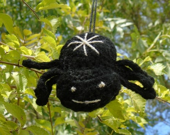 Black spider crochet Ludi Weaver of destiny