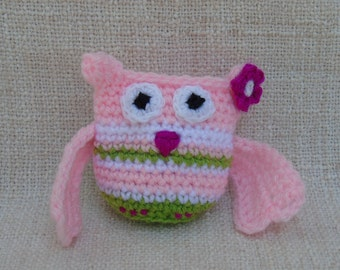 OWL crochet Roselaine that sees everything