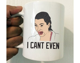 Kim Kardashian Crying Mug