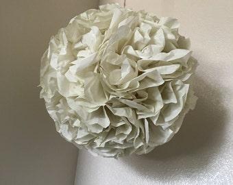 Tissue Pom, tissue paper Pom pom, ruffled pom, decor pom, thanking tissue ball