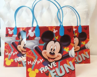 Mickey Mouse Treat Bag 12ct