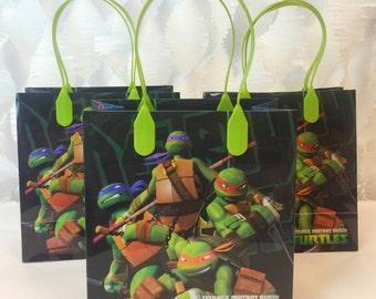 Ninja Turtles Treat Bag 12 ct