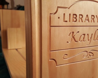 Personalized Kids Book Shelf/Baby Bookshelf by WinkKids