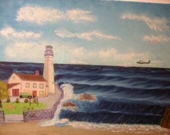 Family Life on a Lighthouse