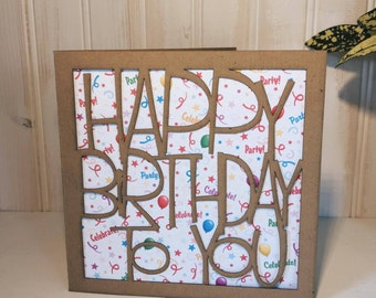 Happy Birthday To You Greetings Card