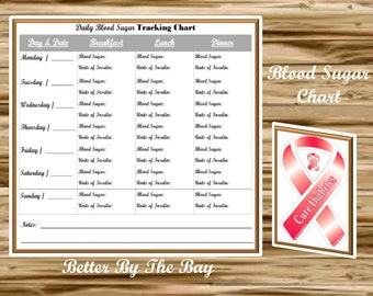 blood sugar tracking chart pdf