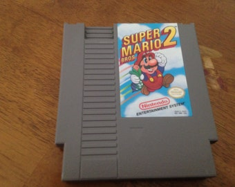 Super Mario Brothers 2 NES