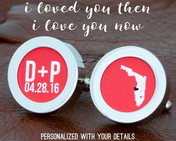 What Is The 35th Wedding Anniversary Gift: 35th Anniversary Gift Groom Cuff Links Wedding Keepsake