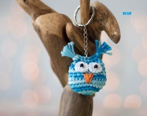 Crochet keychain, owl keychain , amigurumi keychain, cute keychain, owl amigurumi keychain, crochet keyring, owl keychain, handmade keychain