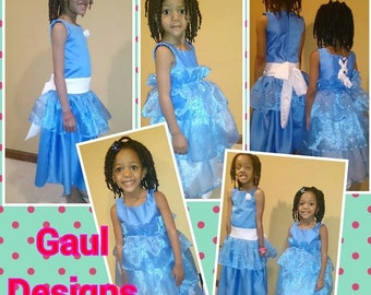 GaulDesigns creates and designs tu tu skirts and dresses for girls from infant to 12 years old