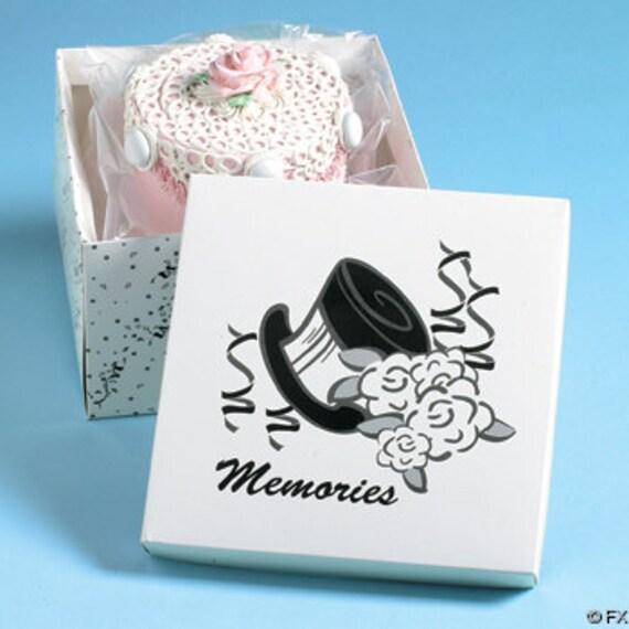 Details Wedding Cake Saver Box