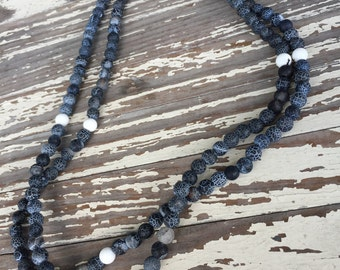 Wrap Bead Necklace