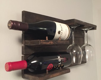 WINE RACK (2 BOTTLE)