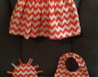 Handmade 3-piece Baby Girl Set