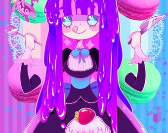 Stocking Sweets print