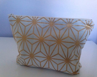 Zippered Pouch, Nappy/Diaper Pouch, Make-up Pouch