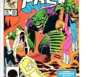 Copper Age,  Power Pack Comic Book,  Marvel Comics, 25th Anniversary,  Marvel Comic Book,  Vintage Comics